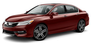 2016 Honda Accord Exterior Front Red
