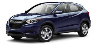 2016 Honda HR-V Blue Exterior Front