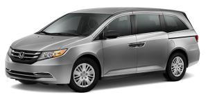 2016 Honda Odyssey Silver Exterior Front