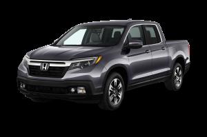 2017 Honda Ridgeline Front Black Exterior Truck
