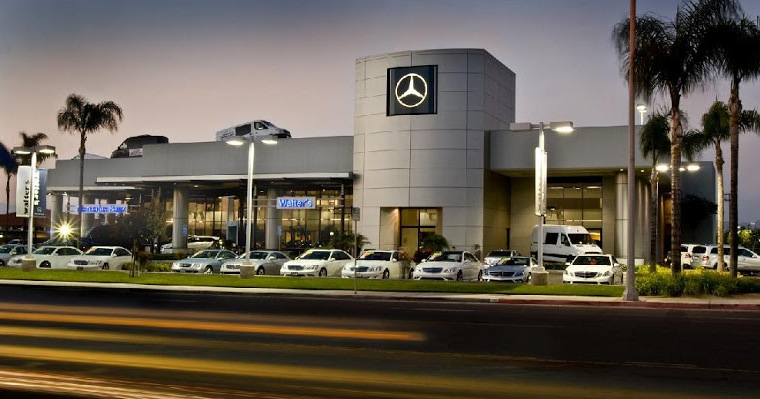 Mercedes benz dealer serving corona fixes those dents and for Mercedes benz dealers in michigan