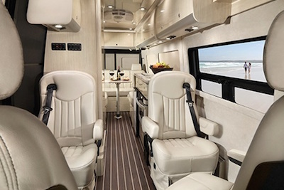 Mercedes-Benz Airstream Interstate Lounge EXT interior