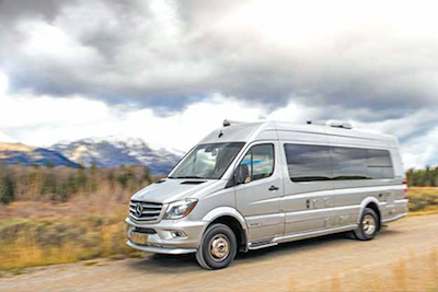 Sprinter airstream buy a sprinter airstream near corona ca for Mercedes benz airstream interstate