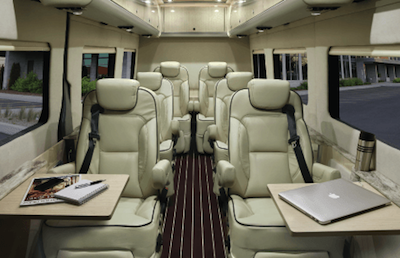 Mercedes-Benz Airstream Autobahn cabin