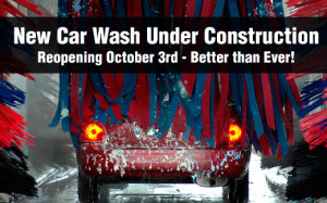 New Car Wash Under Construction