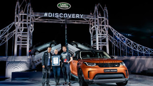 Land Rover Sets A LEGO World Record