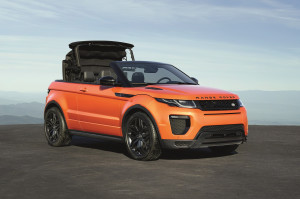 What It's Like Driving the Range Rover Evoque